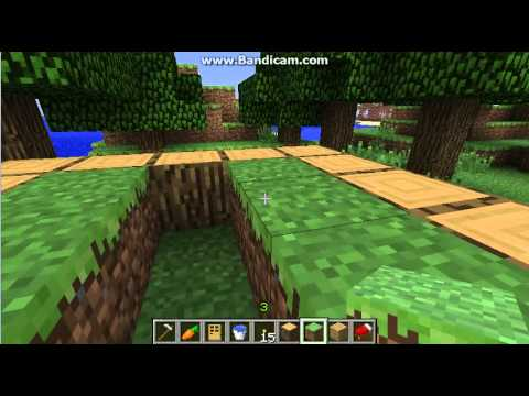 minecraft vegetable garden