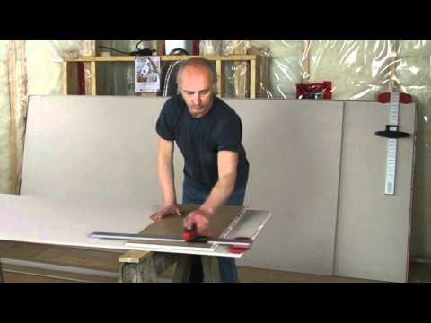 Wallboarder's Buddy Drywall (sheetrock) cutting tool demo