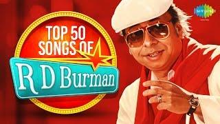 Top 50 songs of R D Burman | Instrumental HD Songs | One Stop Jukebox