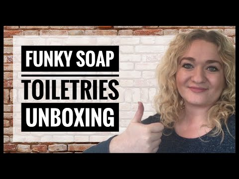 Zero Waste Toiletries - Zero Waste Shampoo and Conditioner Bars - Funky Soap Hair Care Unboxing