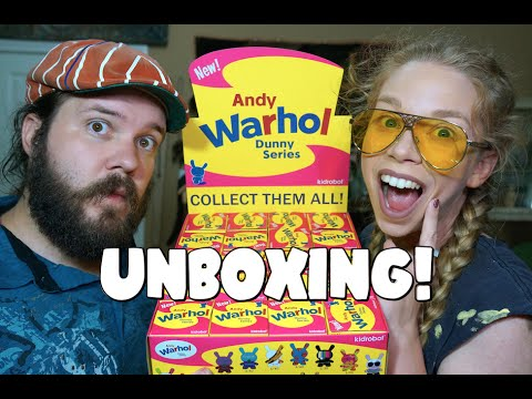 MYSTERY UNBOXING! - WARHOL DUNNIES