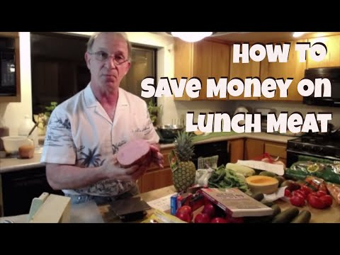 Cut Your Grocery Bill/ Save Money on Lunch Meat/3 Ways to buy deli meat & cold cuts/Cheap Lunch Meat