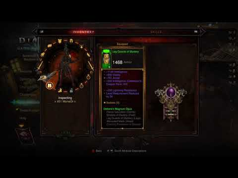 Bethicus73 Xbox One Playing Diablo III: Reaper of Souls – Ultimate Evil Edition