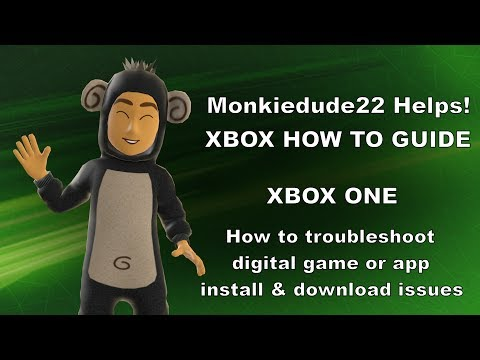 How to fix digital game or app installs on Xbox One