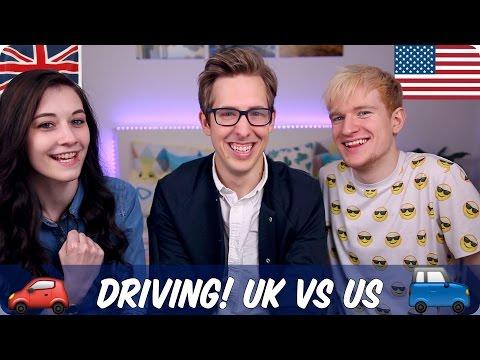 Driving! British VS American | Evan Edinger & Luke Cutforth & Kim