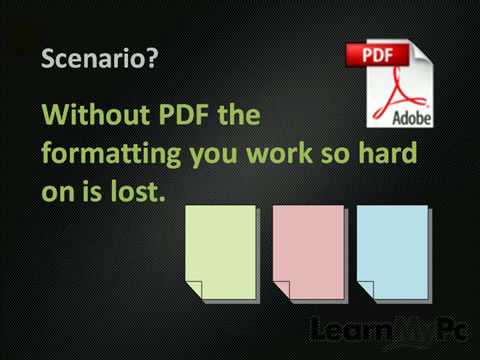 How to Create & View PDF Documents