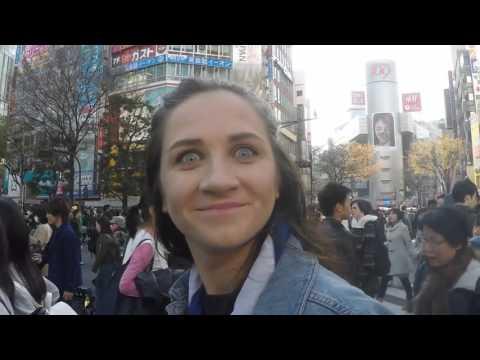 Charlotte and Hayley exploring Japan and Hong Kong