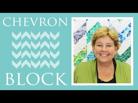 The Chevron Block Quilt: Easy Quilting Tutorial with Jenny Doan of Missouri Star Quilt Co