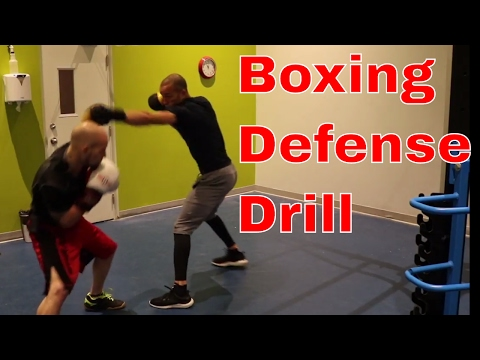 Boxing Defense Drill | Vision and Balance | How to stop flinching