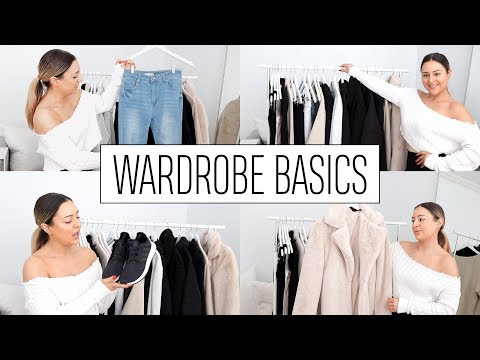 MY WARDROBE BASICS - Best Jeans, Shoes & Clothes on a Budget!