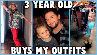 MY 3 YEAR OLD NIECE BUYS MY OUTFITS