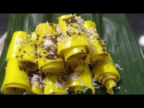 Khandvi | Patudi With My Twist Of Taste