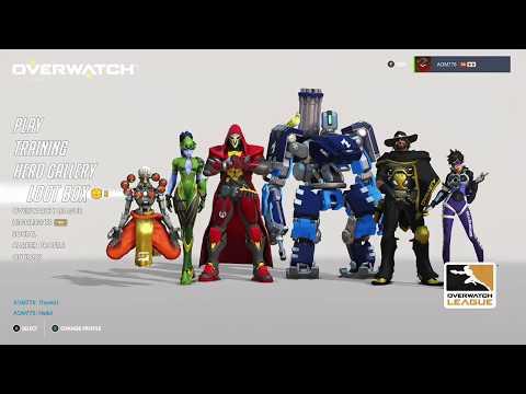 Overwatch OE OWL Week 2 Opening 5 Loot Boxes