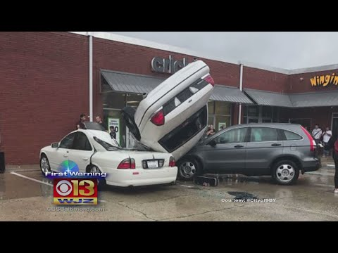 As Storms Move Through Md., Salisbury Residents Believe A Tornado Touched Down