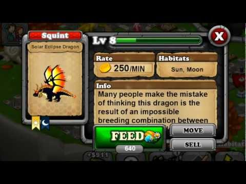 How to Breed Solar Eclipse Dragon 100% REAL - Dragonvale