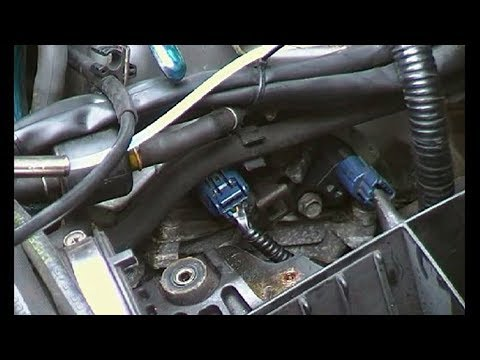 Cam sensor change, Honda CRV MkII and error code clearing without a code reader.