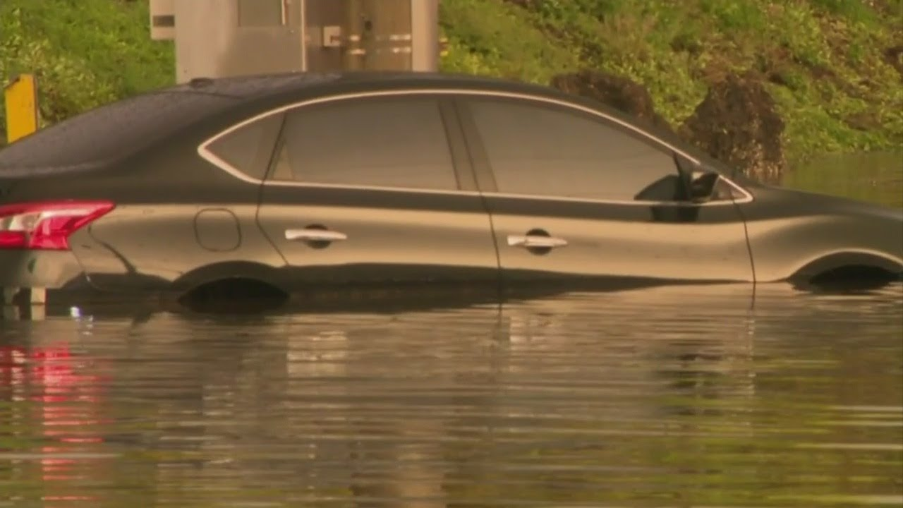South Florida Drivers Heavily Impacted By Tuesday's Stormy Weather