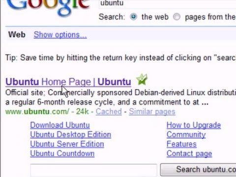 Free Ubuntu Linux Live CD Disk