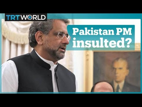 Pakistan PM security checked at US airport