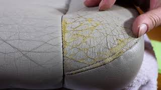 How To Correctly Repair Damaged & Cracked Car Leather Seats