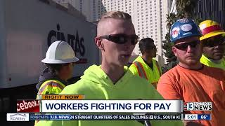 Construction workers on Strip say they haven