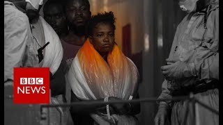 Nigerian migrants: Why are numbers to Europe dropping? - BBC News