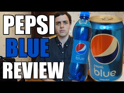 DRINKING AND REVIEWING PEPSI BLUE (CHINESE) [China Au Pair Vlog #15]