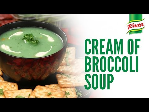 Cream of Broccoli Soup recipe by Knorr