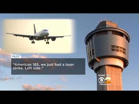 Pilots Say Laser Was Pointed At Planes Near JFK Airport