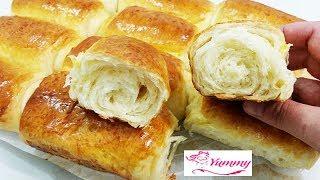 #x202b;خبز الحليب القطني للفطور والمدارس رووعة/مطبخ يمي#x202c;lrm;