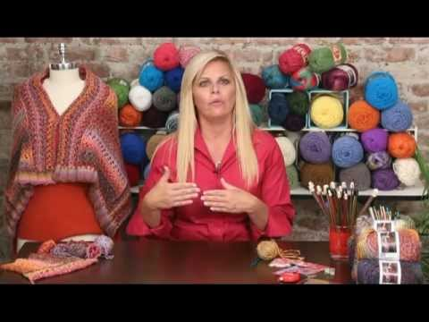 Learn How To Crochet With Sashay From Red Heart Yarns Red Heart