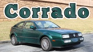 1992 Volkswagen Corrado VR6: Regular Car Reviews