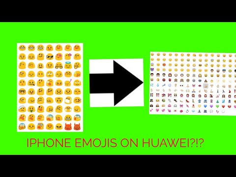 How to get iPhone emojis on huawei(no root) 2017