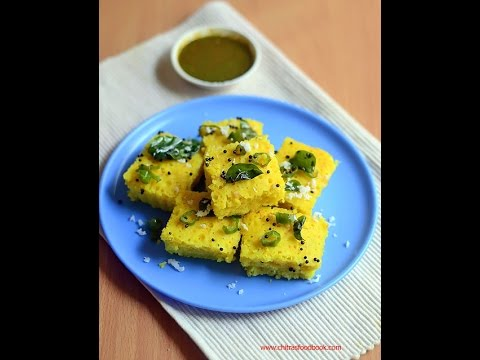 Microwave dhokla recipe - Instant Khaman dhokla under 5 minutes