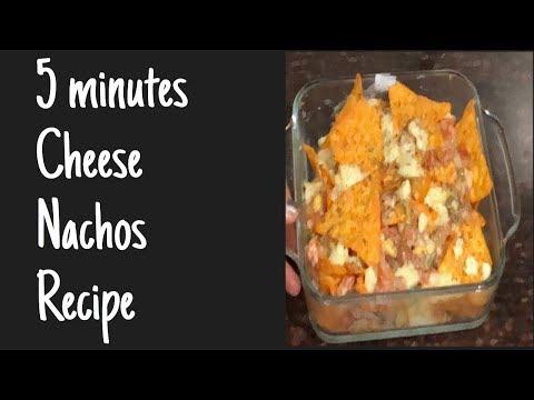 Cheese nachos recipe in less than 5 minutes