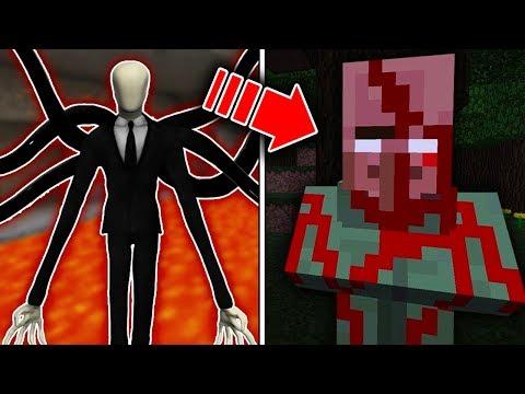 SLENDERMAN KÖYLÜLERİ ÖLDÜRÜYOR! 😱 - Minecraft
