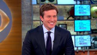 "Jeff Glor on debut as ""CBS Evening News"" anchor"