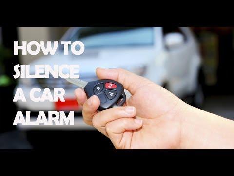 How To Silence A Car  Alarm
