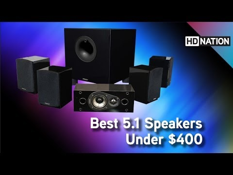 Solid 5.1 Surround Sound Speakers For Under $500. $46 MediaSonix HomeWorx HW-150 OTA PVR Review.
