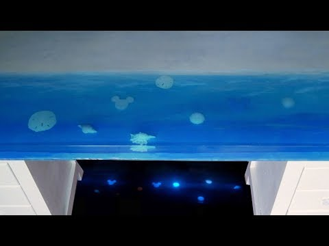 Epoxy Resin Ocean Table // How To Make
