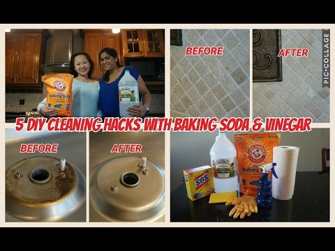 5 DIY Cleaning Hacks with Baking Soda & Vinegar