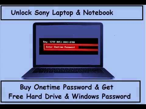 Sony Bios Password Unlock Laptop & Notebook