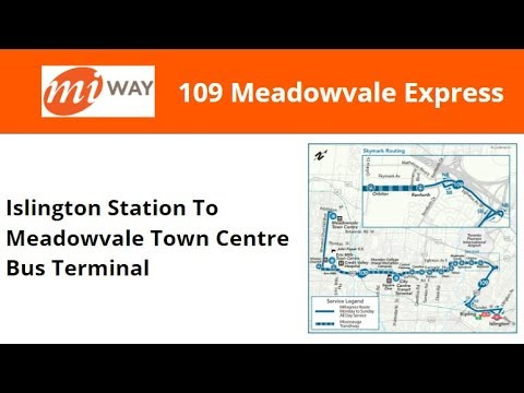 MiWay 2012 Orion VII NG (EPA 10) #1214 On 109 Meadowvale Express (Islington Stn To Meadowvale TCBT)