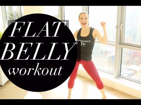 FLAT BELLY WORKOUT | TRACY CAMPOLI | BEST AB EXERCISES FOR A FLAT BELLY