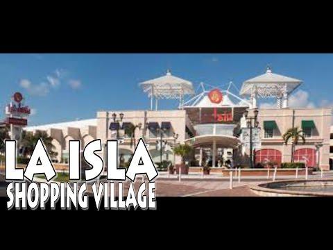 LA ISLA Shopping Village Cancun Mexico 4K