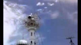 Miracle of Islam in Nepal-mosque minarets head flying-