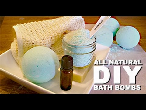 Learn to make all-natural DIY Bath Bombs (Tutorial)