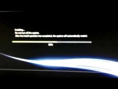 New update for PS3 | Installing 4.66 update |