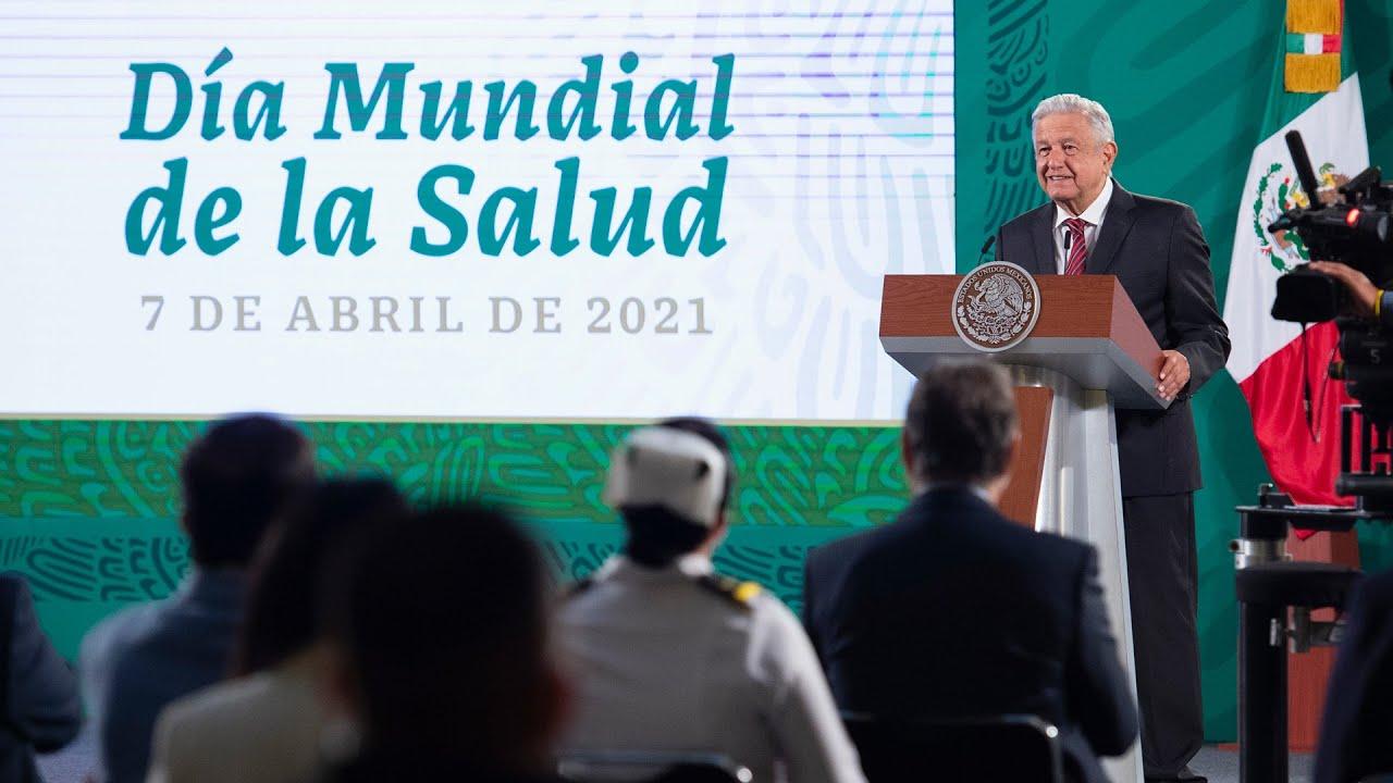 Día Mundial de la Salud. Conferencia presidente AMLO