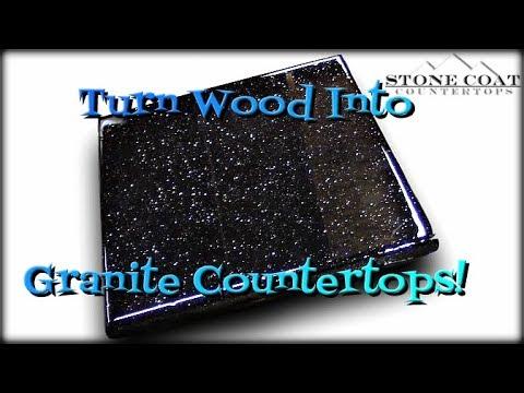 Turn Wood Into Granite Countertops
